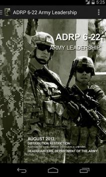 ADRP 6-22 Army Leadership poster