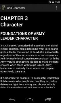ADRP 6-22 Army Leadership apk screenshot