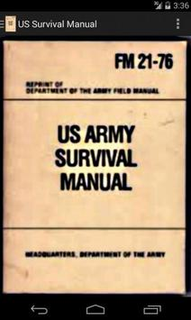 US Survival poster