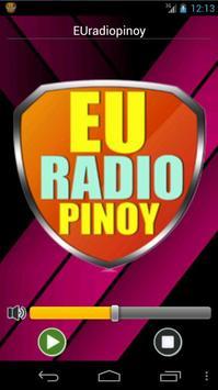 EUradiopinoy 2.0 poster