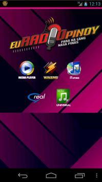 EUradiopinoy 2.0 apk screenshot