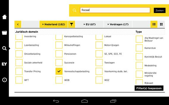 EY TaxLaw NL apk screenshot
