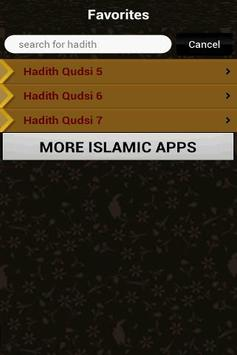 40 Hadith Qudsi (Islam) apk screenshot