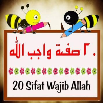 25 Sifat Wajib ALLAH poster