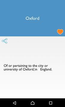 Offline Dictionary of English apk screenshot