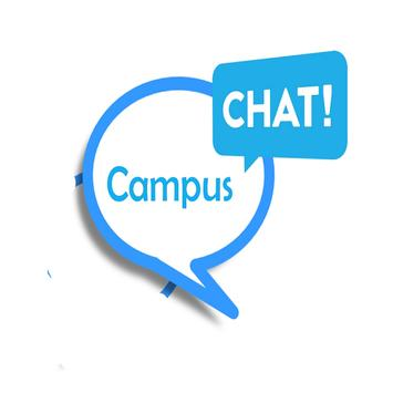 Campus Chat App poster