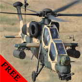 T-129 Atak Helicopter FREE icon