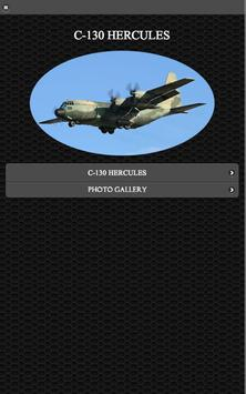 C-130 Hercules FREE poster