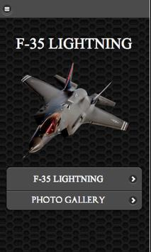 F-35 Lightning Aircraft FREE poster