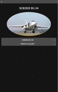 Sukhoi Su-24 FREE poster