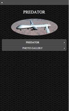 MQ-1 Predator UAV FREE poster