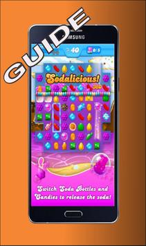 Tips Candy Crush soda Saga poster