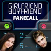 Fake Call Girlfriend Boyfriend icon