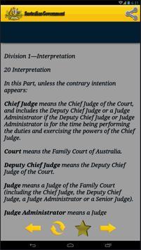 Family Law Australian law apk screenshot
