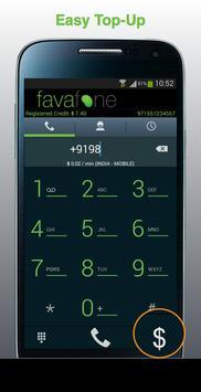 Favafone apk screenshot