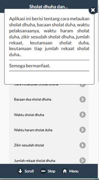 Sholat Dhuha apk screenshot