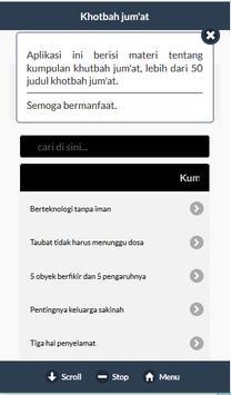Khotbah Jum'at APP apk screenshot
