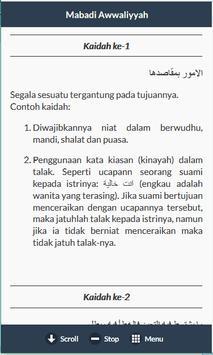 Mabadi Al Awaliyah & Terjemah apk screenshot