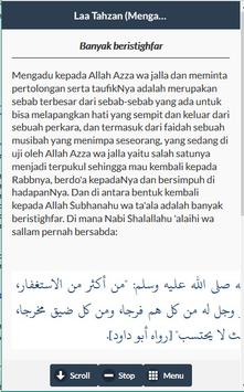 Laa Tahzan (Mengatasi Masalah) apk screenshot