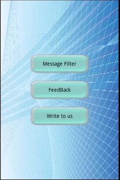 Message Filter apk screenshot