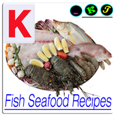 Fish Seafood Recipes icon