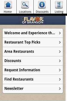 Branson Restaurants poster