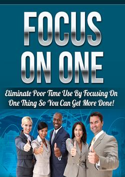 Focus on One poster