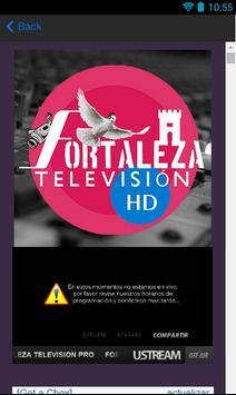 Fortaleza Stereo Radio and TV poster
