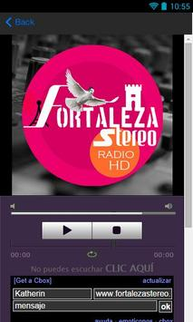 Fortaleza Stereo Radio and TV apk screenshot