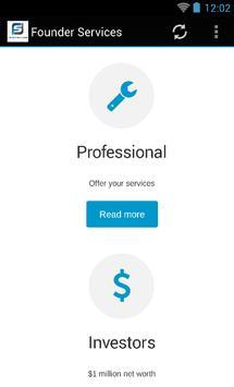 Founder Services apk screenshot