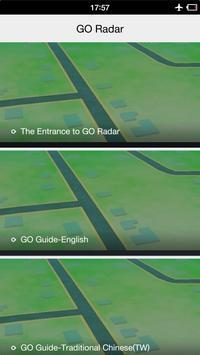 GO Radar-For PokeGO poster