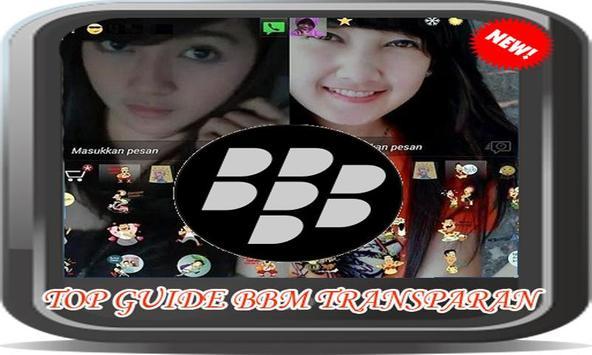 Top Guide BBM Transparan poster