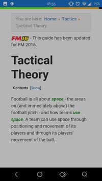 Guide to Football Manager apk screenshot