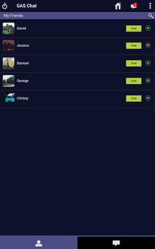 GAS Chat apk screenshot