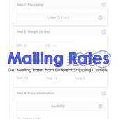 Mailing Rates icon