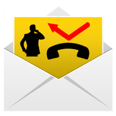 Missed Call On Your Mail icon