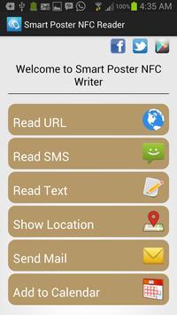 Smart Poster NFC Writer poster