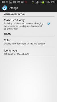 Smart Poster NFC Writer apk screenshot