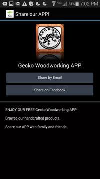 GeckoWoodworking apk screenshot