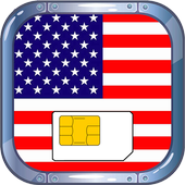 احصل على رقم أمريكي مجان Prank icon
