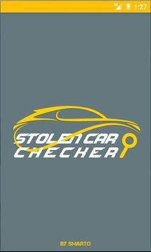 Stolen Car Checker poster