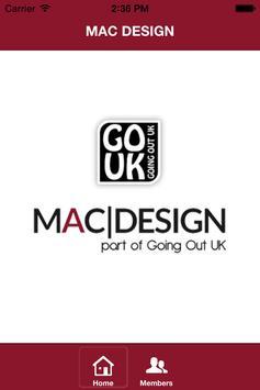 MAC DESIGN poster