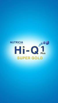 HiQ Super Gold AR Scanner poster