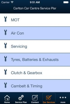Carlton C C Service Plan apk screenshot