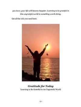 Gratitude For Today apk screenshot