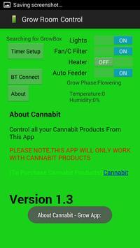 Grow Room Control apk screenshot