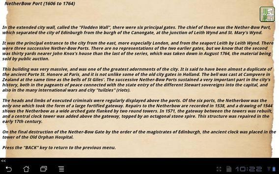 HGuide: Old Edinburgh apk screenshot