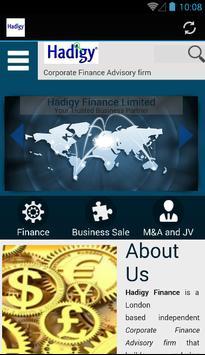 Hadigy Finance poster