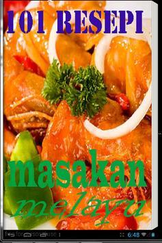 101 Resepi Masakan Melayu poster
