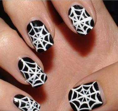 Halloween Nails Manicure poster